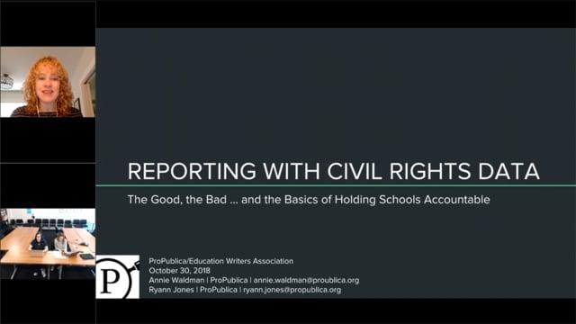 Mining Federal Civil Rights Data for Local Stories