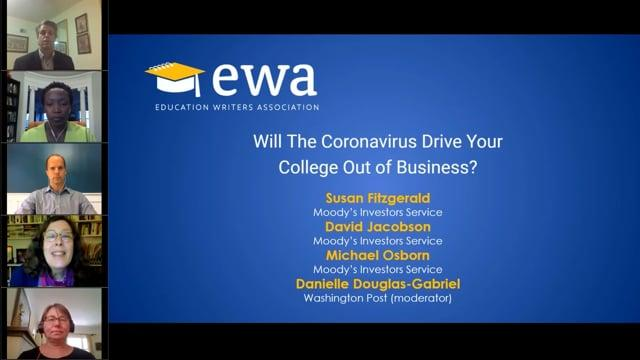 Will The Coronavirus Drive Your College Out of Business?