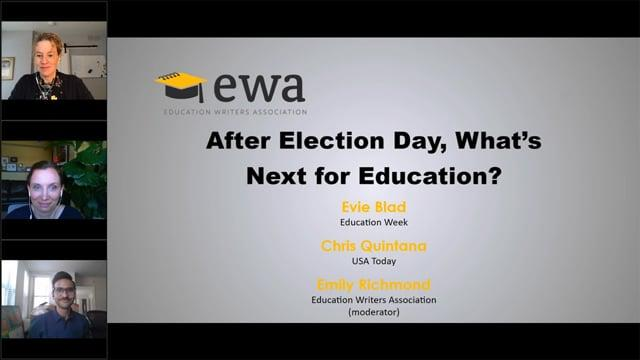 After Election Day, What's Next for Education?