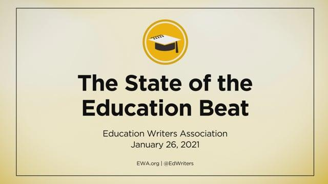 Register Now: Jan. 26 Release Event for The State of the Education Beat Report