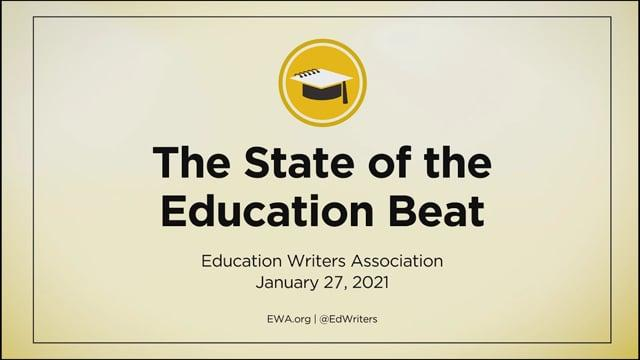 Release Event for The State of the Education Beat Report