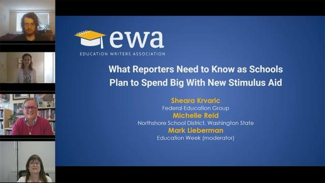 What Reporters Need to Know as Schools Plan to Spend Big With New Stimulus Aid