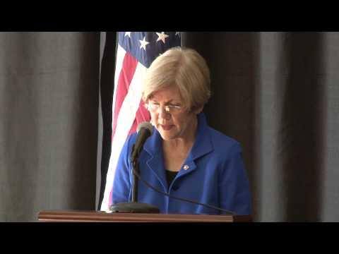 Sen. Elizabeth Warren on Student Loan Debt