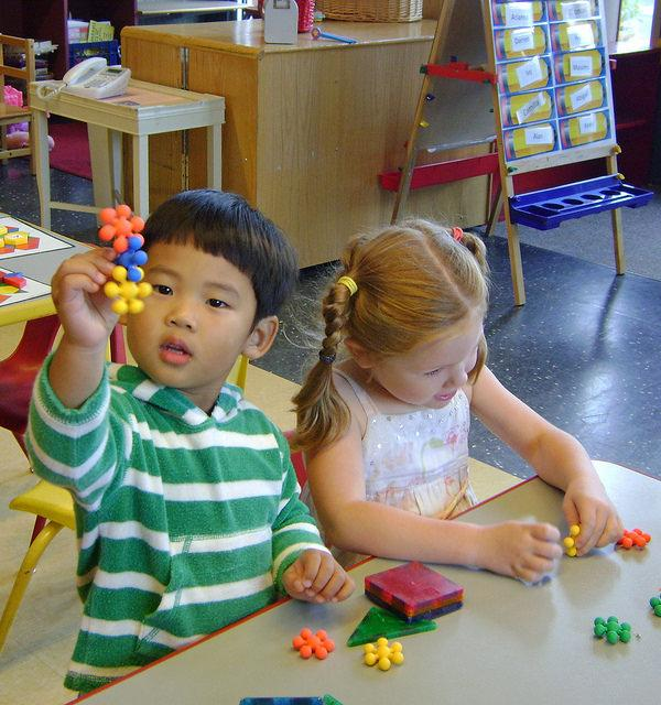The efficacy and quality of universal pre-school programs is a hot topic of debate for the nation's education policymakers and researchers. (Flickr/Seattle Parks)