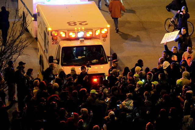 A March 11 rally for presidential candidate Donald Trump in Chicago was cancelled after supporters and protesters collided at the University of Illinois at Chicago Pavilion.