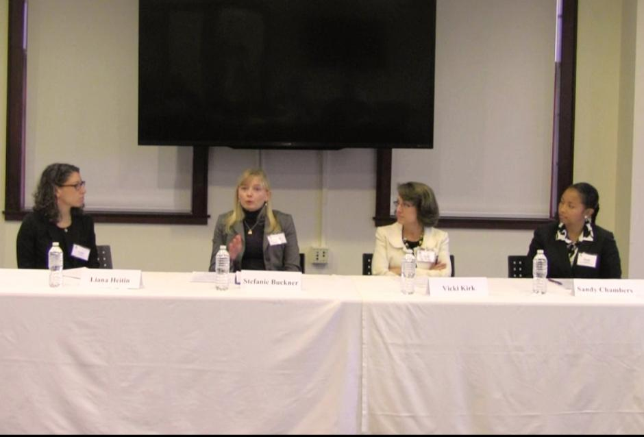 Educators discuss the Common Core during an EWA seminar at the University of North Carolina, Chapel Hill on Jan. 12, 2015. (EWA)