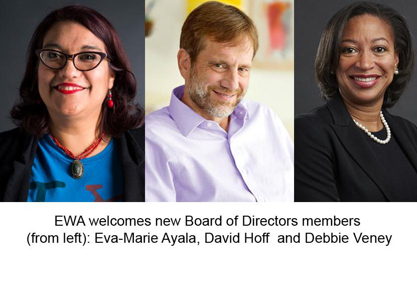 image of new EWA Board Directors 2018