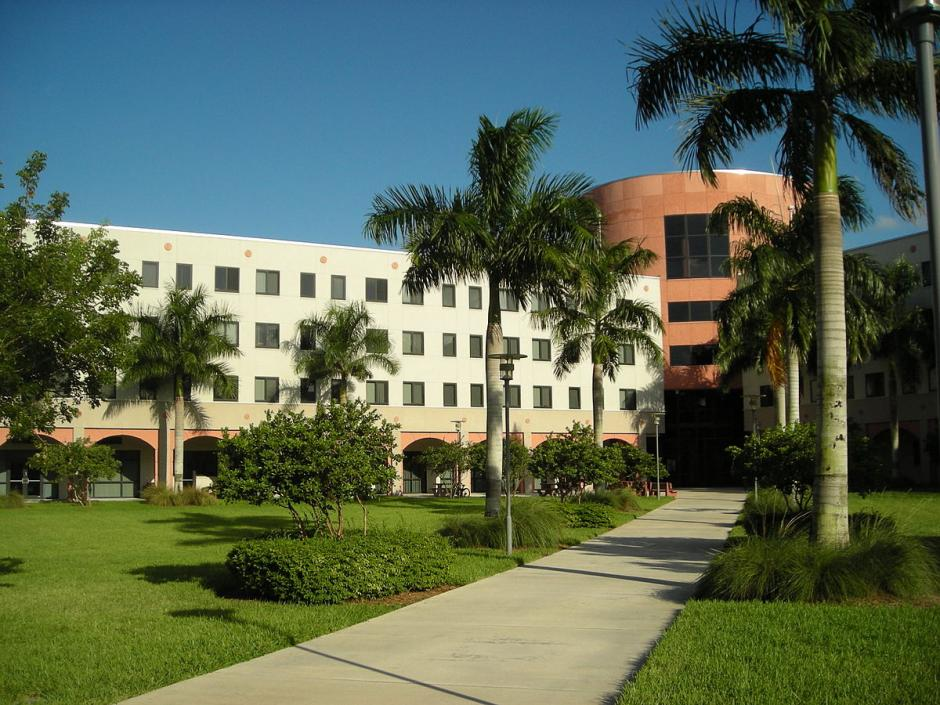In 2012-13, Florida International University graduated the most Latino students with bachelor's degrees compared with any other Hispanic-serving institution. Source: FIU Everglades, licensed under Creative Commons Attribution 3.0 via Wikipedia