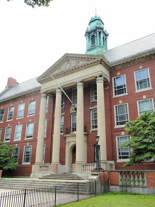 Massachusetts, a strong performer on both national and international educational rankings, is home to Boston Latin, the nation's oldest public school. (Wikimedia Commons/Daderot)