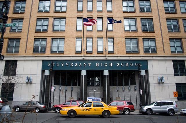 Acceptance figures to the city's eight elite schools were released this week, revealing a stark lack of diversity. According to The New York Times, Stuyvesant High School is historically the hardest to get into. Source: Flickr/ Orin Hassan (CC BY 2.0)