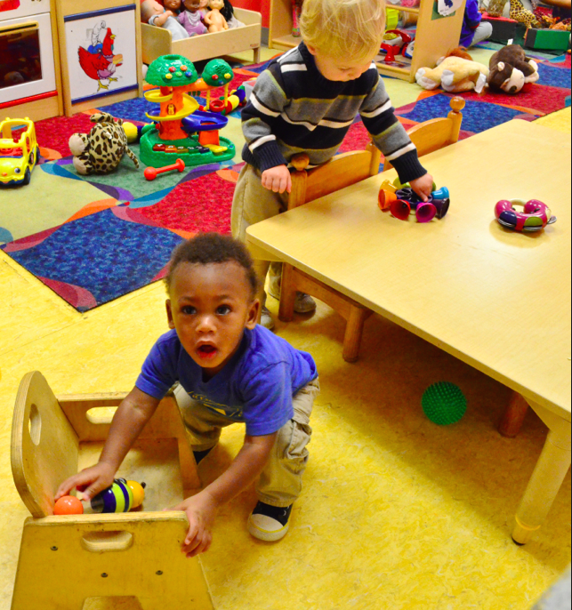 Students play at an early education center in New Orleans (Source: Mikhail Zinshteyn/EWA)