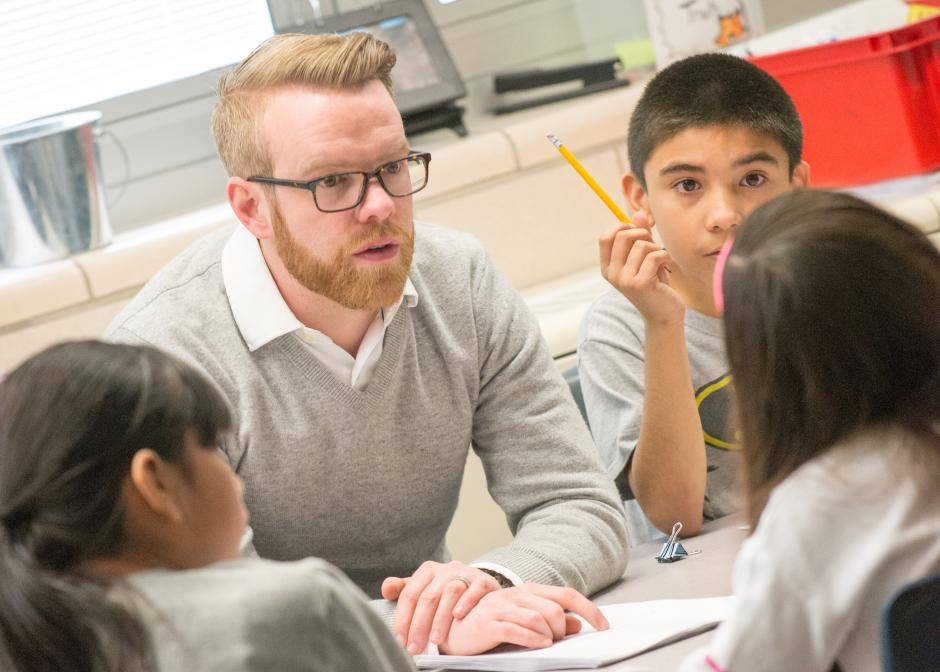 A teacher in one of the Denver, Colo. schools  partnering with Urban Teacher Residencies United (UTRU) to provide intensive support to early career educators. (Photo credit: UTRU)